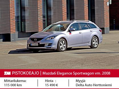 Mazda 3 Sport Vs Touring >> Koeajo Mazda6 2009 2012 Parempaan Suuntaan Tekniikan