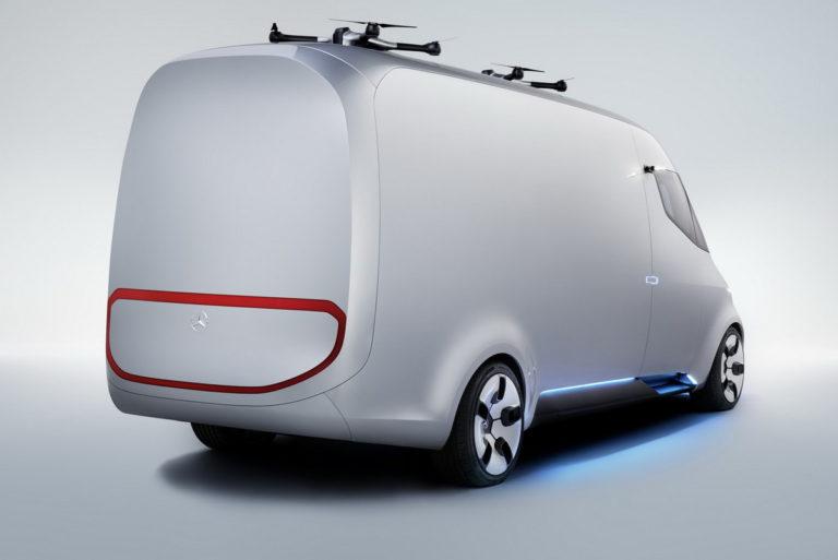 Mercedes Mini Van >> Mercedes Benzin Nakemys Tulevaisuuden Pakettiautosta Vision
