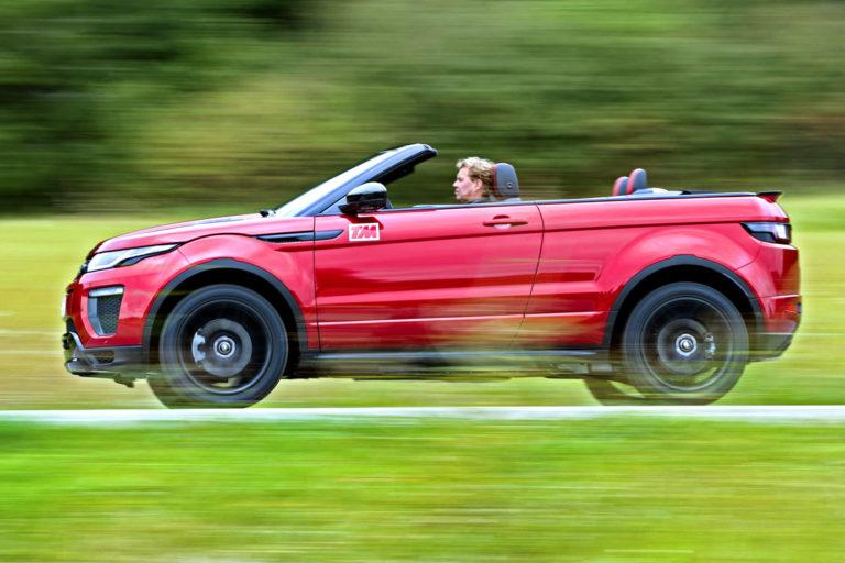 Range Rover Convertible >> Koeajo Range Rover Evoque Convertible Tekniikan Maailma