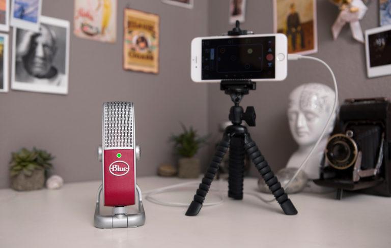 kytkeä mikrofoni iPad