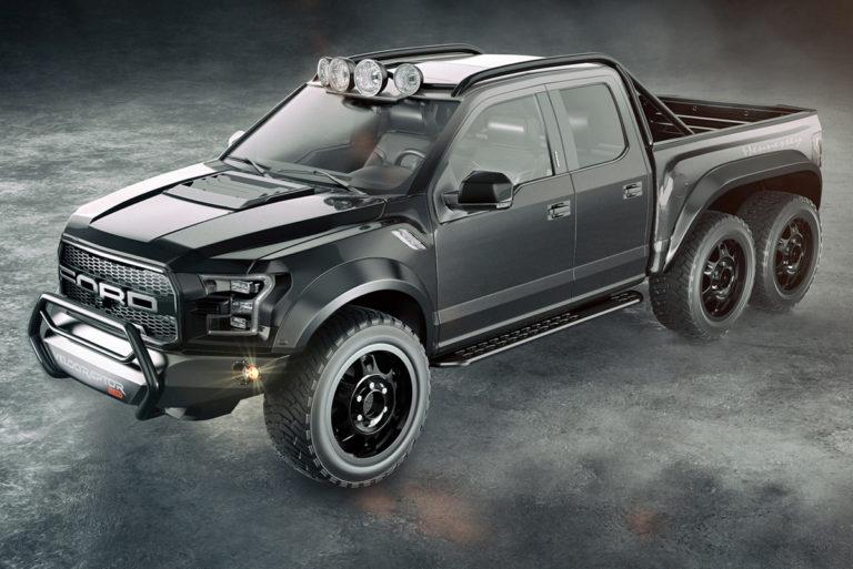 Ford Raptor Hennessey >> Hennessey Velociraptor 6x6 Kun Neliveto On Ihan Paperia