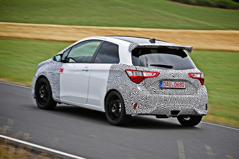 Toyota Yaris Grmn >> Tm Ajettua Toyota Yaris Grmn Protopajan Vaki Hieman