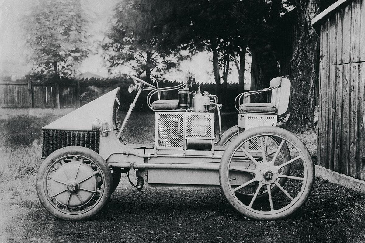 Maailman Ensimmäinen Auto