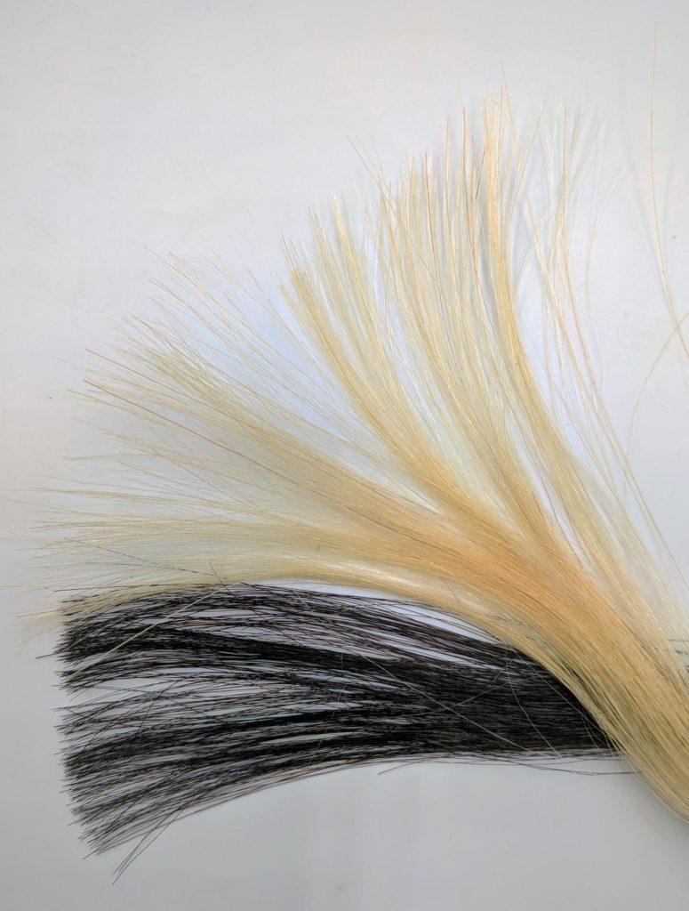 Vetyperoksidi Hiukset