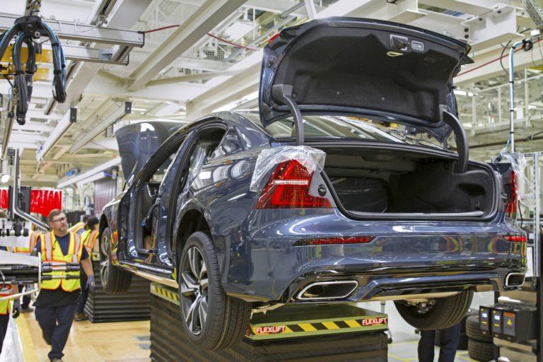 Volvo Perusti S60 Tehtaan Etela Carolinaan Pian Osa Suomenkin