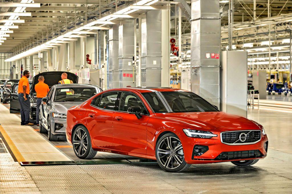 Volvo S60 Nyt Se On Made In Usa Tekniikan Maailma