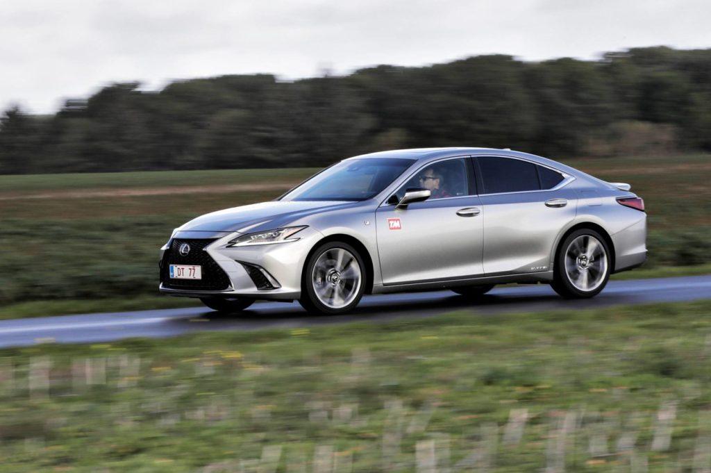 Lexus F Sport >> Tm Ajettua Lexus Es 300h F Sport Vaihtoehto Saksalaiselle