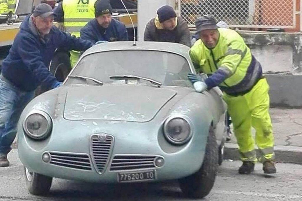 Alfa Romeo Giulietta >> Torinolaisesta Hallista Tehtiin Upea Loyto Josta Italia