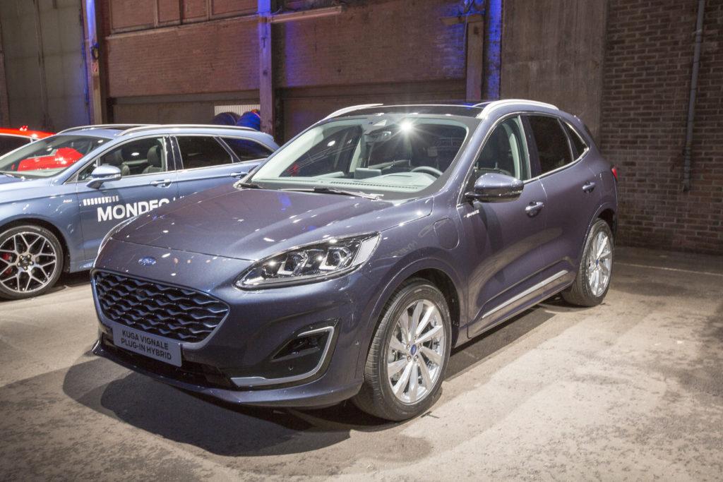 Uusi Ford Kuga Tulee Myos Kolmena Hybridiversiona Tekniikan Maailma