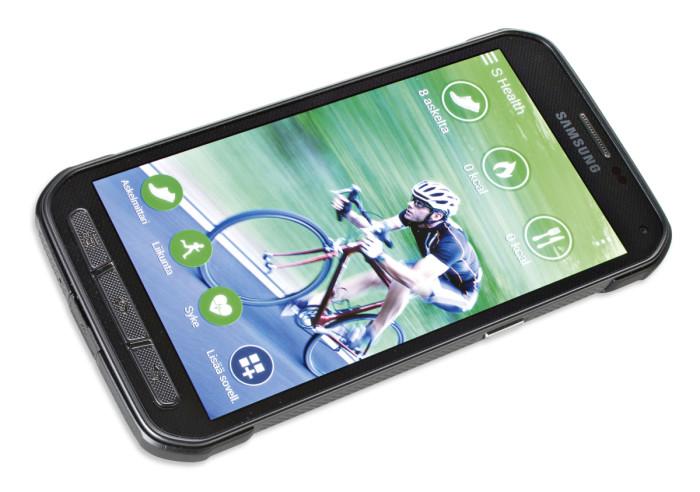 Samsung tarjoaa joukon mielenkiintoisia S Health -ominaisuuksia, joiden avulla pystyy valvomaan omien juoksu- tai pyöräilylenkkien pituuksia, kunnon kehitystä, ruokavaliota ja sykettä.