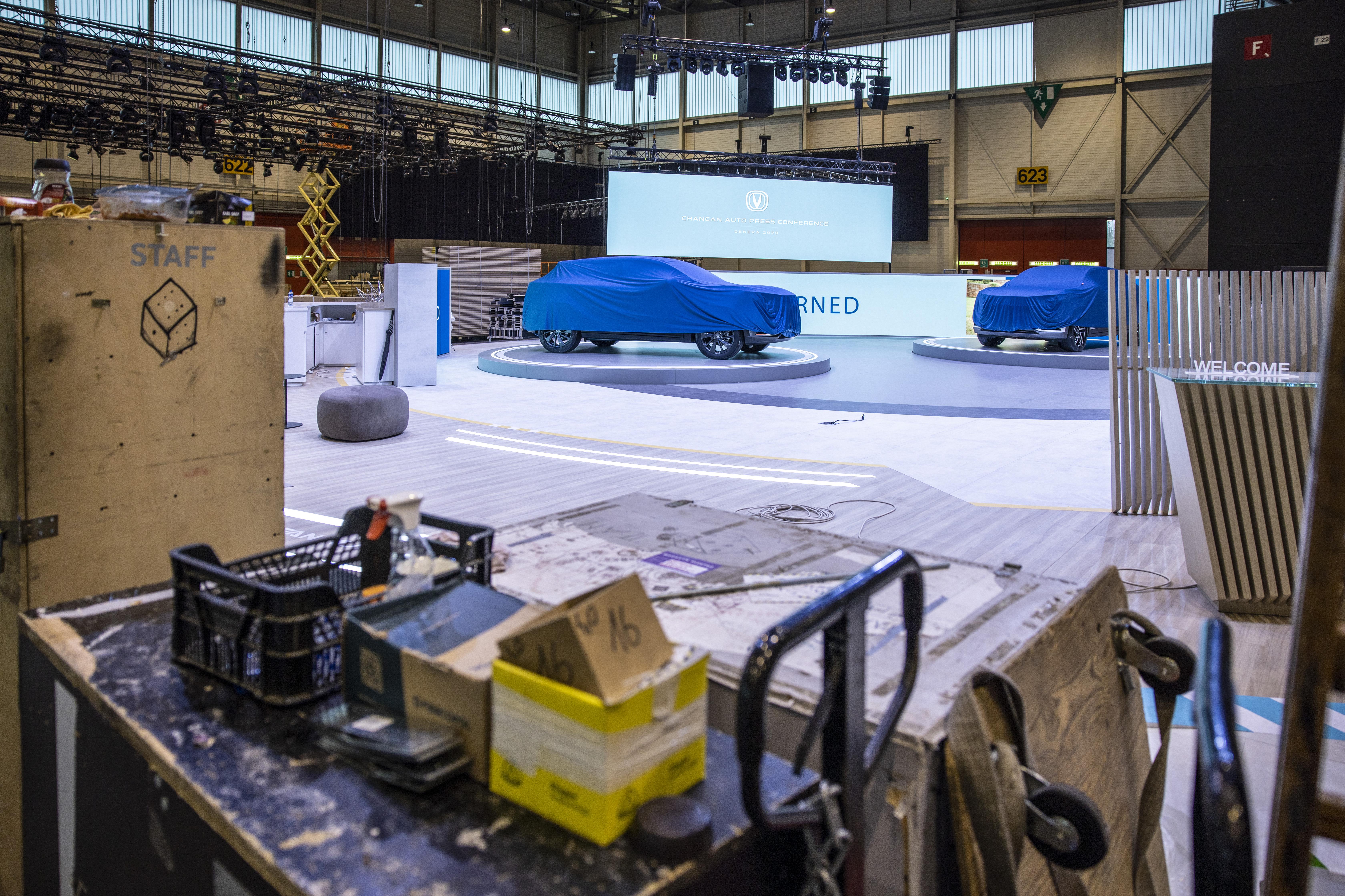 Geneven Autonäyttely