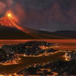Dinosaurukset saattoivat kohdata jopa satoja kertoja nykyisiä suurempia tulivuorenpurkauksia. Laavaa saattoi purkautua jopa 10 000 kuutiokilometriä kerralla.