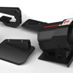 Mad Catzin pedaalit ovat ohjainyhdistelmän parasta antia. Leveä pohjalevy on hyvästä ja mukana tulee runsaasti varusteita, esimerkiksi polkimelta lipsahtamisen estävä kulmalevy.